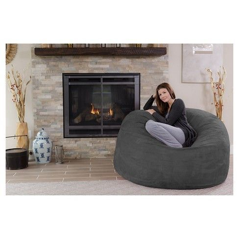 Sit back, relax and stay a while in this Large Memory Foam Bean Bag from Relax Sacks. This bean bag chair will be the perfect lounge spot to sit in while reading a book, watching your favorite TV show or playing video games. Whether in your den, living room or dorm room, this foam bag chair will give you all the comfort you need to recharge. #FavoriteMemoryFoam