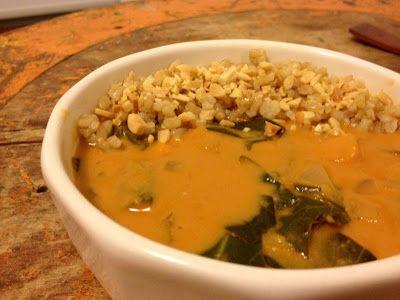 West African Peanut Soup | Soups | Pinterest