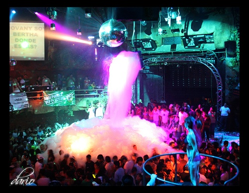foam party...i will go to one before i die