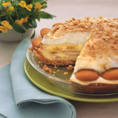 Happy Living Old Fashioned Banana Cream Pie