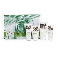 Bulldog's Expert Skincare Set for men contains all a man's skincare essentials – Original Face Wash, Original Face Scrub, Original After Shave Balm and Original Moisturiser, all in a presentation tin.