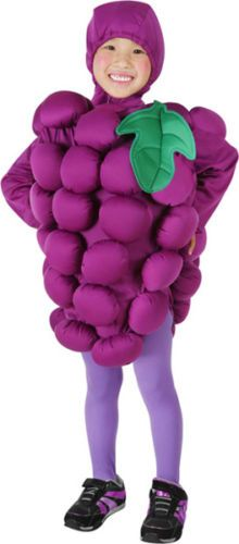 Toddler Grapes Outfit Fruit Halloween Costume 2T | eBay