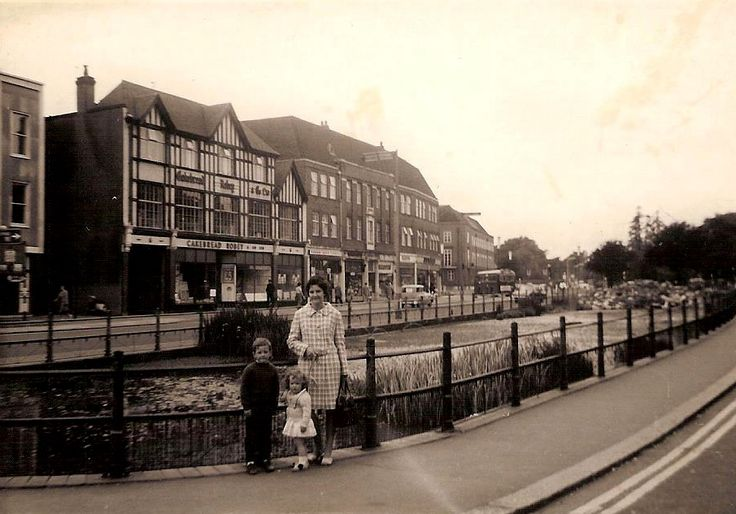 Watford, Hertfordshire - the pond - 1967