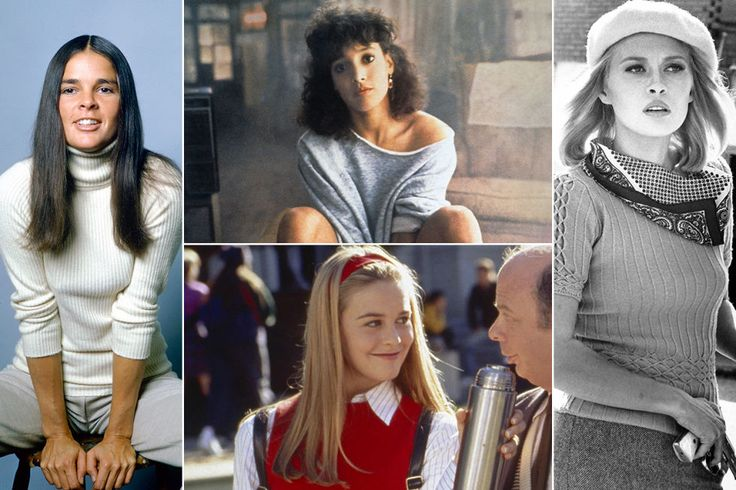 From Holly Golightly's turtleneck to Cher Horowitz's vest, we shopped out the best sweaters in history to make your fall chic and cozy.
