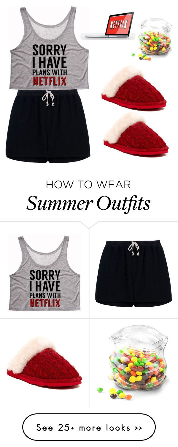 """""""Let's stay up late and watch Netflix"""" by skylarxox on Polyvore featuring Rick Owens, Bearpaw and Dot & Bo"""