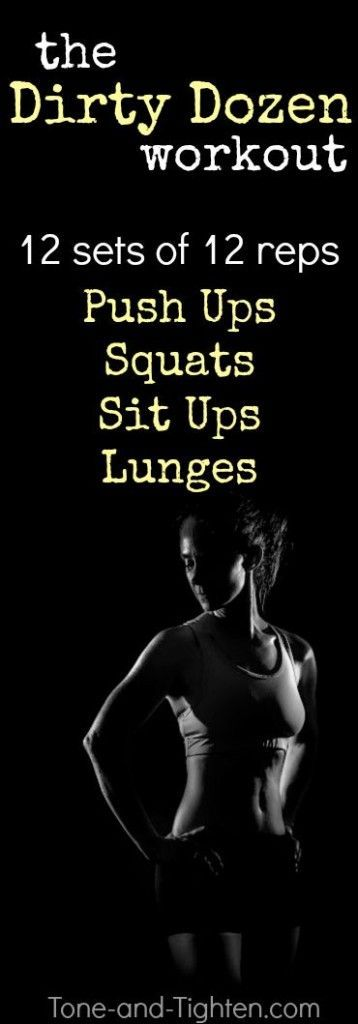 12 sets of 12 reps of 4 of my favorite at-home exercises. Can you hang with the…