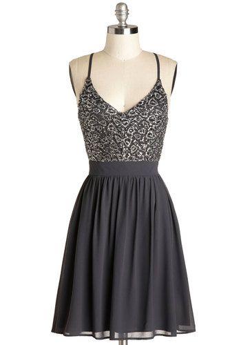 Wait and Sequin Dress, #ModCloth