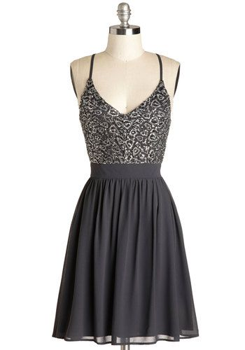 {Wait and Sequin Dress} New Years? Pretty. #modcloth #ad