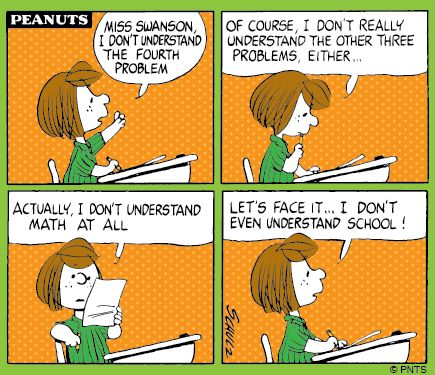 Time for school, Peppermint Patty