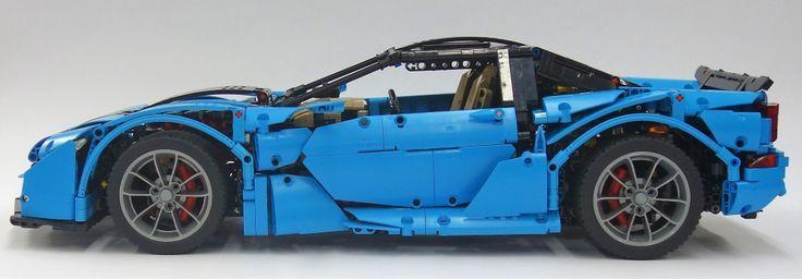 Lego Technic Supercar Crowkillers Lego Lego Ideen