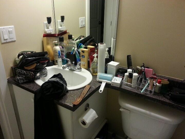 Messy Bathroom Organizing Pinterest Bathroom