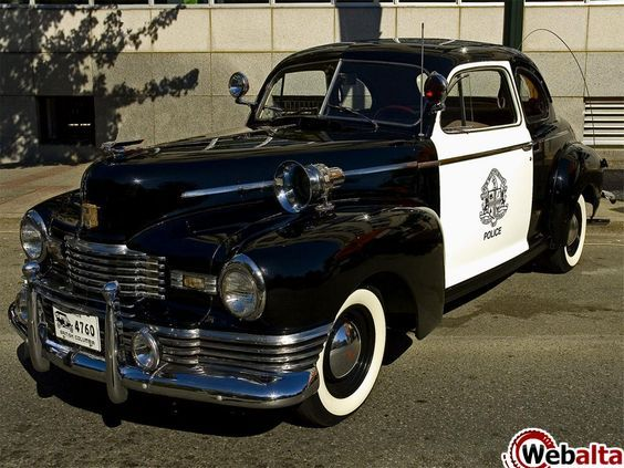 1940 Ford police car | Vintage Police Vehicles