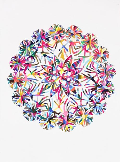 Bola flor colores
