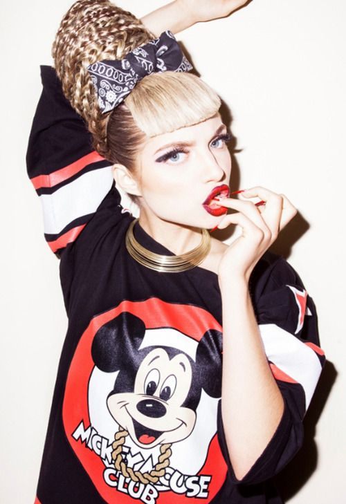mickey mouse, joyrich, disney, editorial, fashion, style, alternative fashion