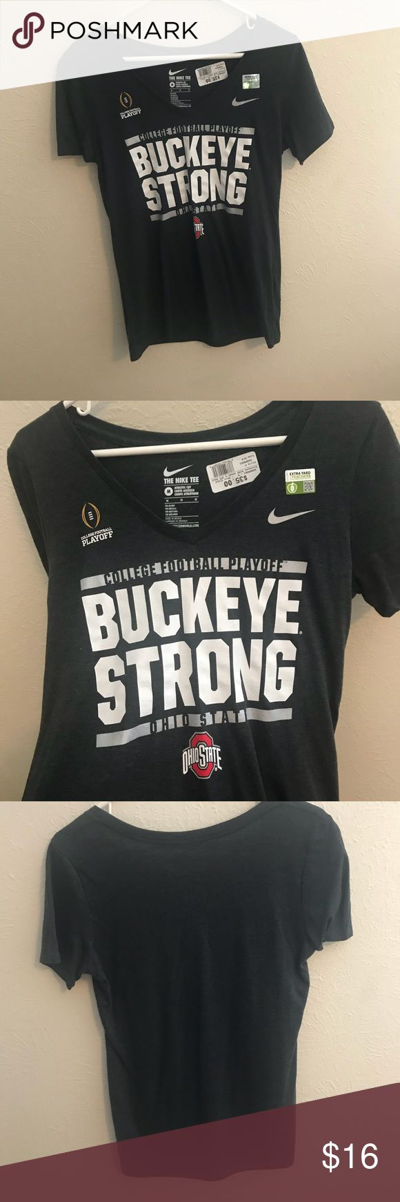 Ohio state T-shirt. New with tags. Nike T-shirt. Nike Tops Tees - Short Sleeve