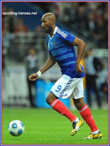Nicolas Anelka - France - FIFA Coupe du Monde 2010 Qualification