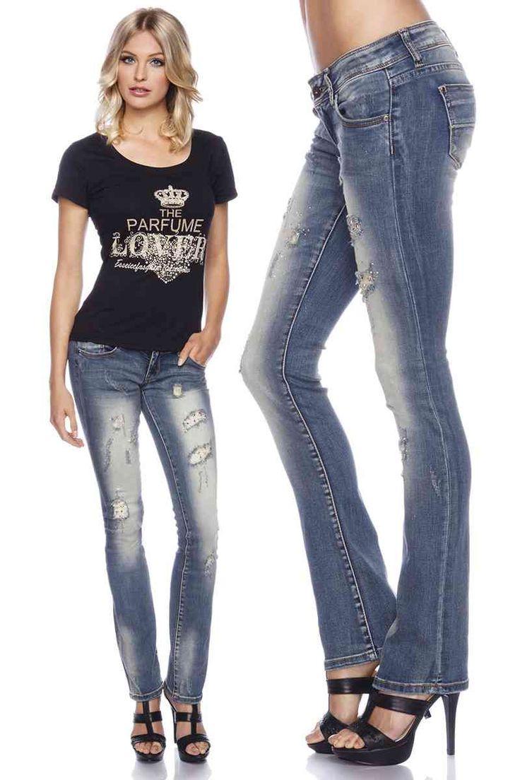 Besten strass jeans bilder auf pinterest diy