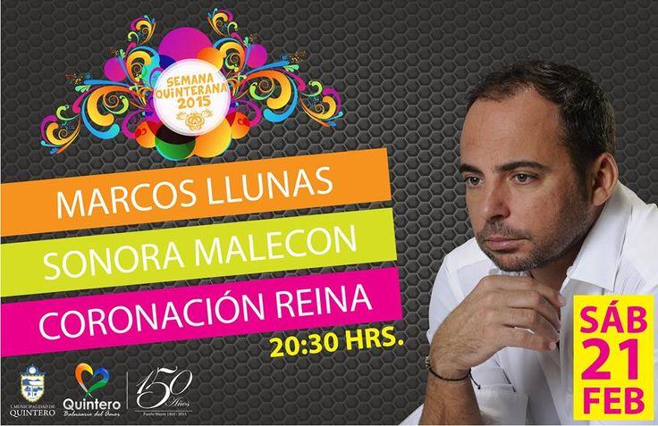 Noche de cierre 21 de febrero Puntilla Sanfuentes en Quintero @Marcosllunas ¡Todos invitados! ¡No faltes!