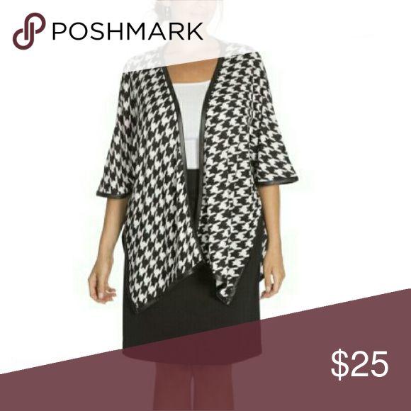 New Moda Open Front Cardigan Poncho Jacket Cloak New never been used Moda International Tops