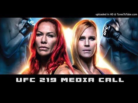 MMA UFC 219: Cris Cybrog vs Holly Holm Media Call (FULL)