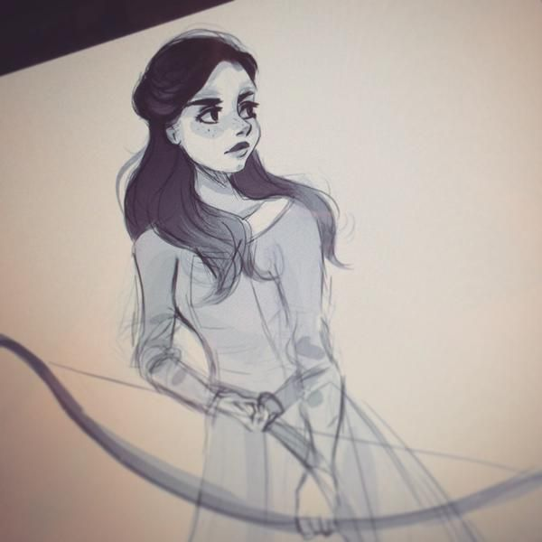 Queen Susan sketch by @taryndraws on Twitter #narnia #fanart