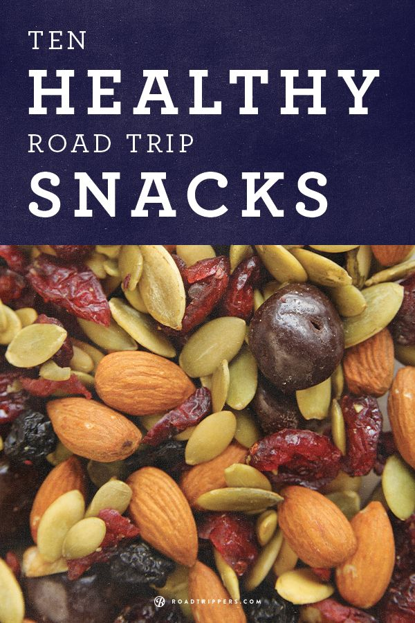 Healthy snacks for the road!