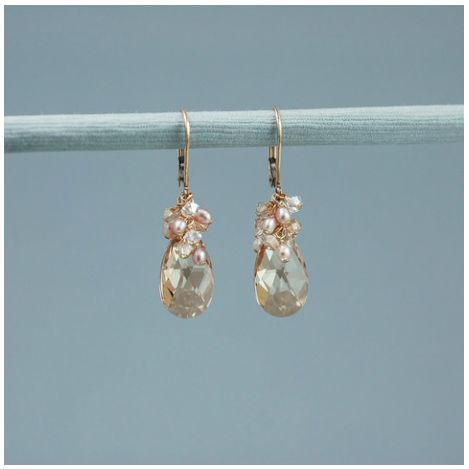 Mini Scarlet Earring-RSGLD Nancy Ciccone
