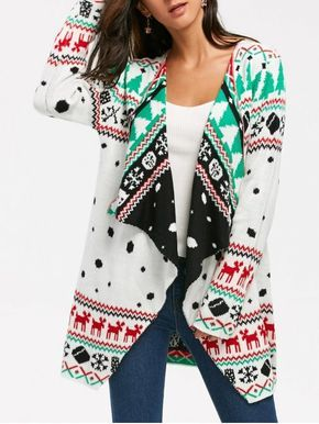 Up to 70% OFF! Christmas Graphic Tunic Draped Knitted Cardigan. #Zaful #tops #sweaters #pearlsweaters #cardigans #fashion #style #oversizedsweaters #knitsweater #knitwear #sweateroutfits #cardigan #cardiganoutfit #turtleneck #cashmeresweater #cashmere #womenfashion #winteroutfits #winterfashion #falloutfits #fallfashion #halloweencostumes #halloween #halloweenoutfits #christmas #thanksgiving #gift #christmascostumes #christmassweater #blackfriday #cybermonday @zaful Extra 10% OFF Code:ZF2017