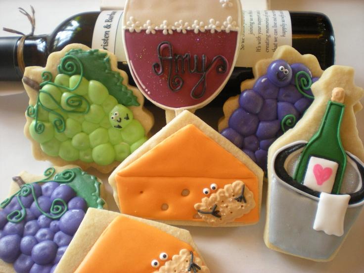 Wine Tasting Cookies