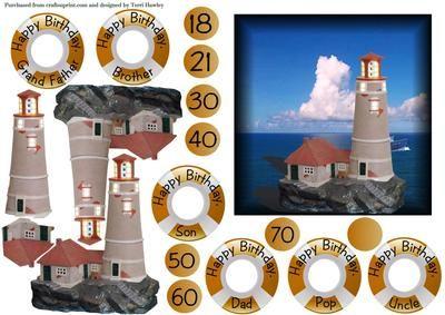 the light house on Craftsuprint - Add To Basket!