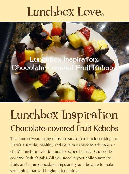 chocolate covered fruit recipe canned fruit