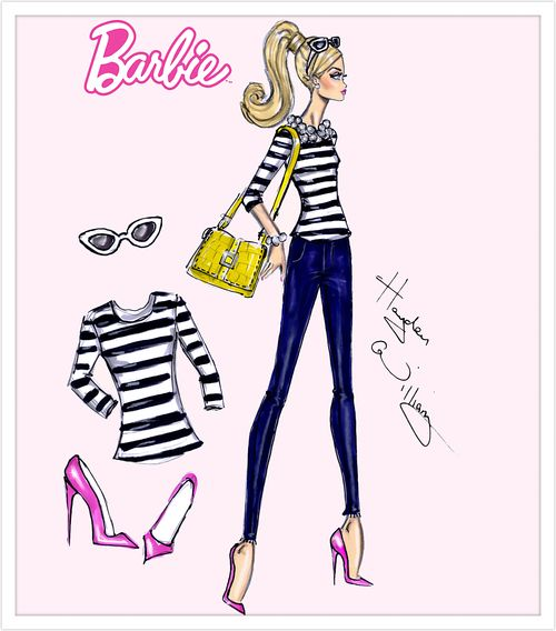 Barbie Style by Hayden Williams: 'Stylish Stripes'| Be Inspirational❥|Mz. Manerz: Being well dressed is a beautiful form of confidence, happiness & politeness