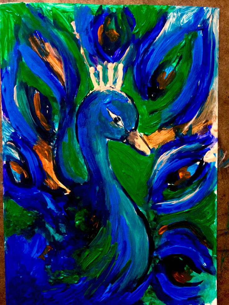 Pawik peacock by inga Kaliszewska