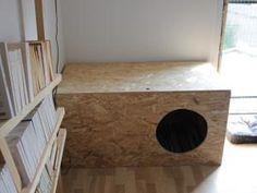 Faire un meuble pour cacher la litière de son chat • Hellocoton.fr