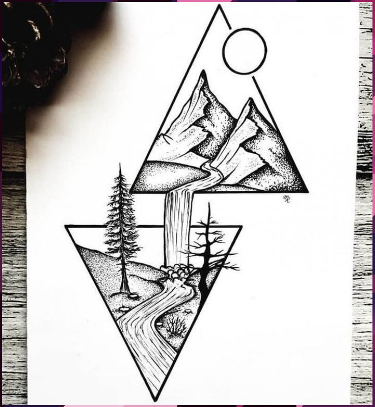 meaning pencil drawings