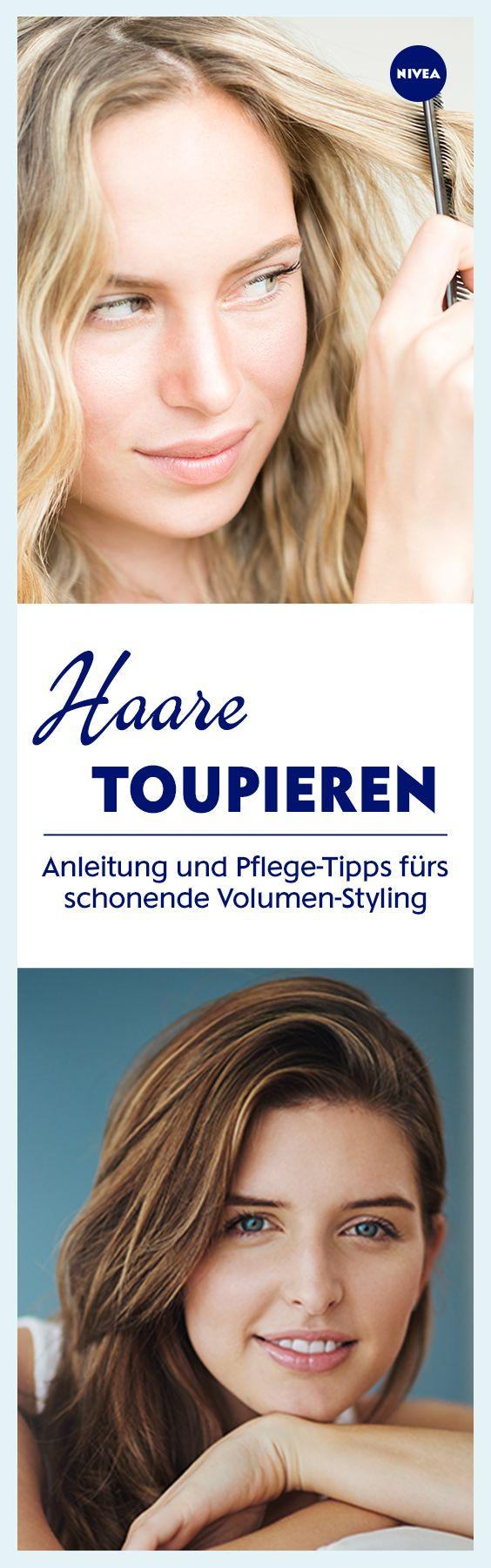 Mehr Volumen gewünscht? Toupieren hilft, kann aber die Haare kaputt machen. Das muss nicht sein: Mit diesen Tipps könnt ihr eure Haare auf sanfte Weise toupieren und so der Lieblingsfrisur mehr Fülle verleihen.-t