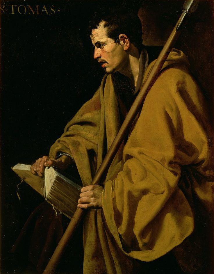 "Diego Velázquez 1619 ""St. Thomas"""