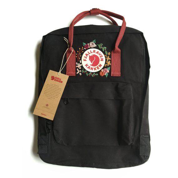 Kanken Backpack - Fjallraven Kanken - Custom embroidery Kanken
