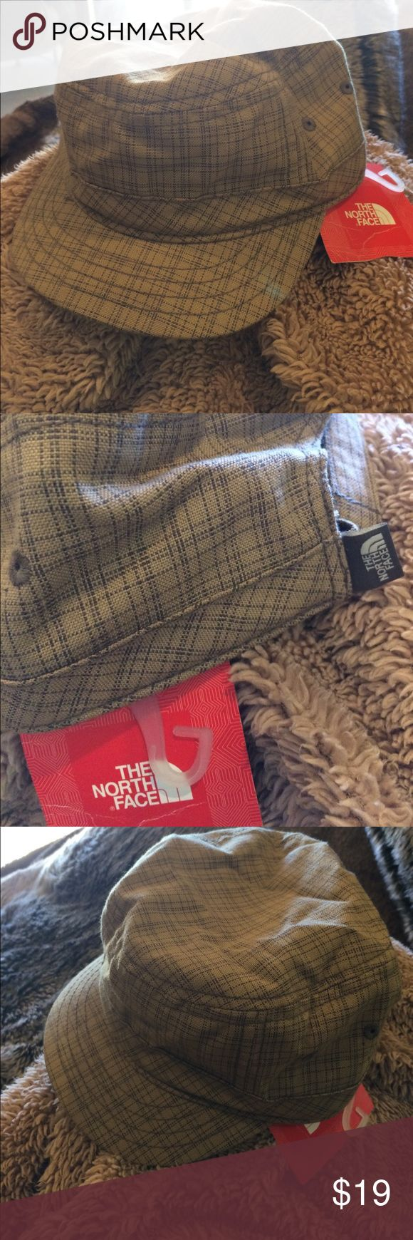 NWT North Face Very Cute Enlisted Military Hat. NWT North Face Very Cute Enlisted Military Hat in Weimaraner Brown. Velcro back adjuster with Sweet NF Logo. The North Face Accessories Hats