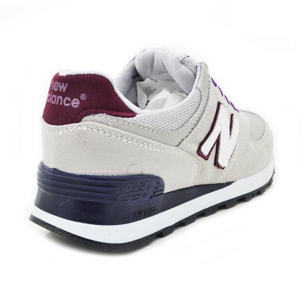 New Balance 574 Gri- Mor- Beyaz | BAYAN AYAKKABI | Spor | New balance kadın ayakkabıları - En uygun fiyata | Nelazimsa.net