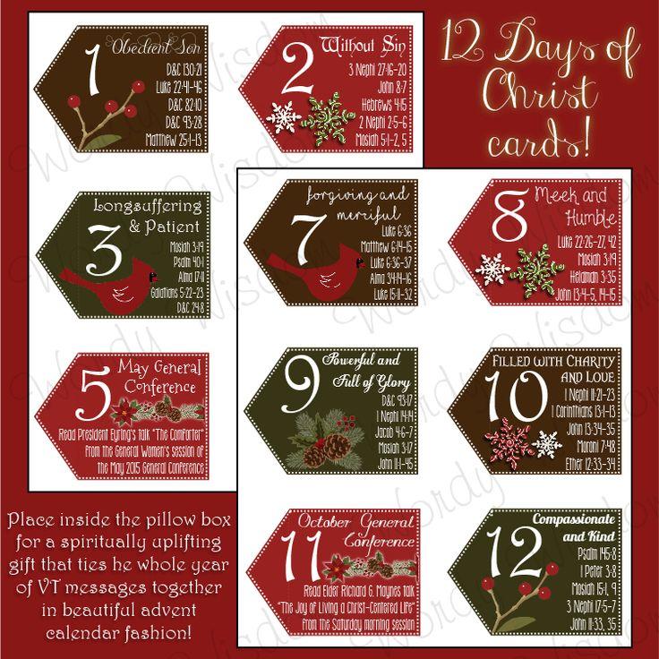 December 2015 Visiting Teaching Message + Kit