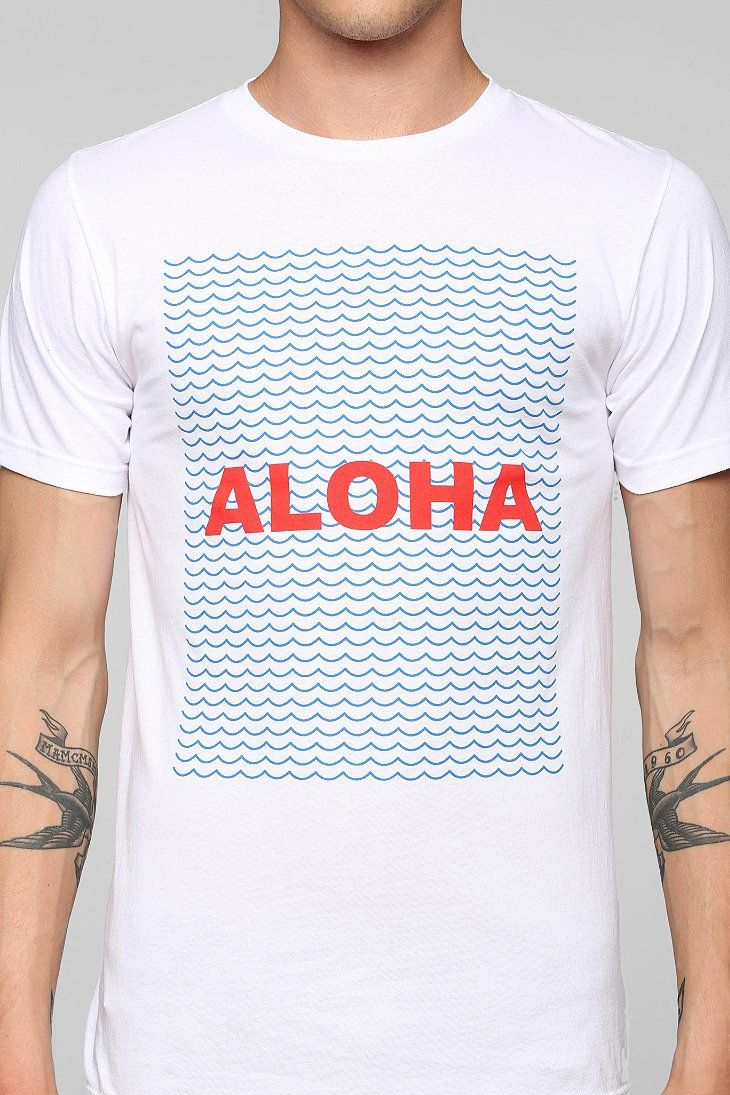 altru aloha tee t shirt design pinterest playeras camisetas y remera. Black Bedroom Furniture Sets. Home Design Ideas
