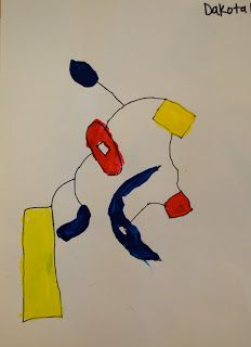 So I Must Be On A Primary Color Kick Wanted Simple Painting Project To Do With My Grade Students Cover Fundamentals