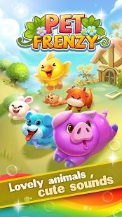 Pet Frenzy – the most adorable match-3 game!