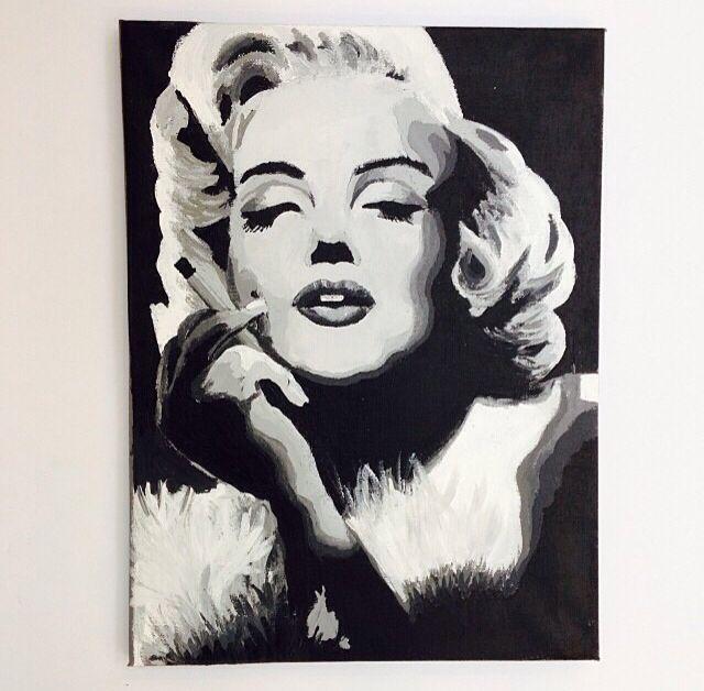 Marilyn Monroe draw  - EYE INTERIOR DESIGN