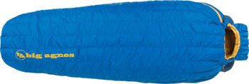 Big Agnes, Inc. Fish Hawk 30F Sleeping Bag: 650-fill DownTek, Blue