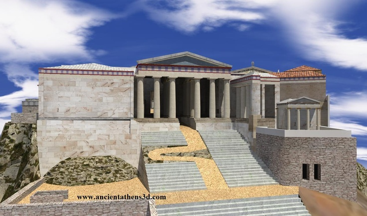 Propylaea, Acropolis - Athen