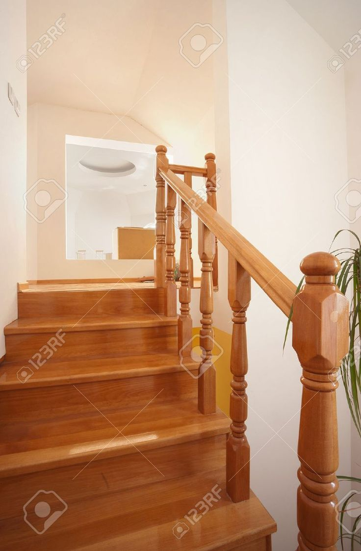 Buy Wooden Stairs By Krsmanovic DISABLED On PhotoDune. Wooden Stairs In  House, Interior Decoration, Wood And White Walls.