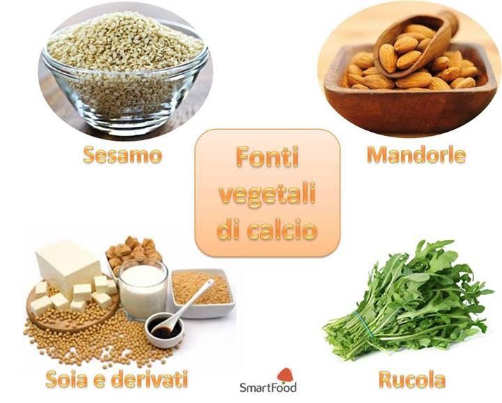 Fonti #vegetali di #calcio
