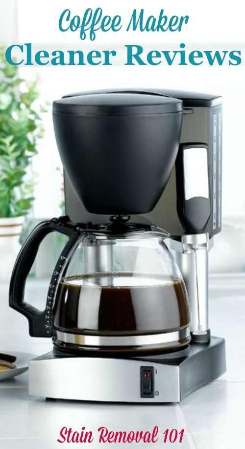 Best Coffee Maker Cleaner : 259 best Cleaning supplies and products images on Pinterest Cleaning supplies, Laundry tips ...